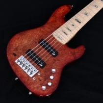 LEJ 6 exotic maple burl bod