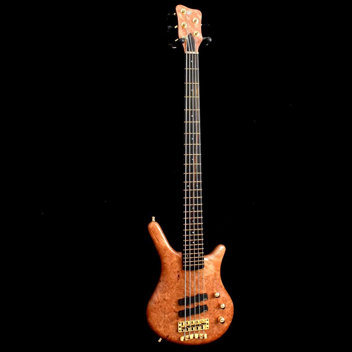 Used Warwick Custom Shop 5 Bass NT LTD